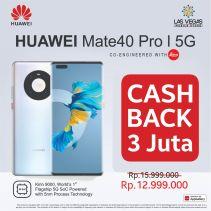 Huawei Mate 40 Pro 5G 8+256GB 66W Huawei SuperCharge Garansi Resmi