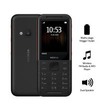NOKIA 5310 - BLACK-RED