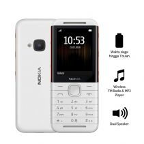 NOKIA 5310 - WHITE-RED