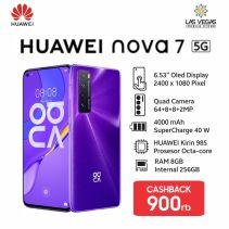 Huawei Nova 7 5G 8GB/256GB Quad Camera Garansi Resmi Huawei 1 tahun