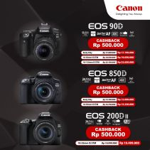 Canon Digital EOS 850D Body Only