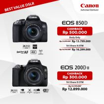 CANON EOS 3000D DSLR With Lens 18-55mm DC III