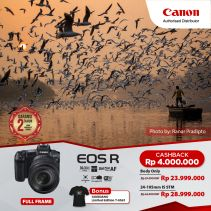 CANON EOS R Mirrorless Digital Camera With RF24-105mm f/4-7.1 IS STM