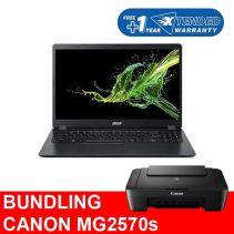 [BUNDLING] Acer Aspire 3 A315-42-R0XU [AMD Ryzen 3 3200U] + Canon Printer MG2570s