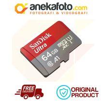 SanDisk MicroSDXC Ultra 64GB 120MB A1