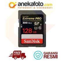 Sandisk SDXC Extreme PRO 128GB / 300MB
