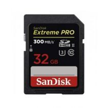 SanDisk Extreme Pro UHS-II SDHC Memory Card 32GB