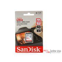 Kartu SanDisk Memory Card MMC SDcard SDHC UHS-I  SDXC 64GB  Ultra Original Asli Termurah Best Sellers Terlaris Sleman Jogja Yogyakarta