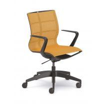 SEDUS Se:joy Chair Black-Orange