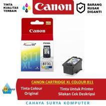 CANON CARTRIDGE XL COLOUR 811
