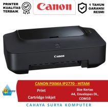 CANON PIXMA IP2770 - HITAM| Print Only | A4 ed