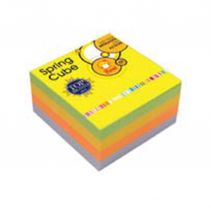 PRONTO Spring Cube 75 x 75mm 4 Color 400 Sheets