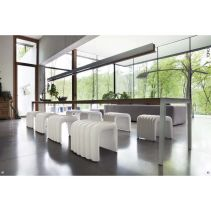 Ramadhan sale - Tonon by Malka - Riversnake outdoor chair - white