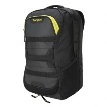 TARGUS 15.6 STAMINA FITNESS BACKPACK (BLACK/YELLOW)