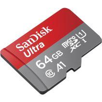 SanDisk Ultra MicroSDHC 64GB - Micro SD - No Adapter