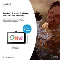 Wacom Cintiq One Display 13 Full HD- DTC-133W0C Paket Lengkap