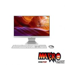 GARANSI 2 THN!ASUS AIO M241DAK-WA341T (R3/4GB/1TB/FHD/23.8/W10) -White